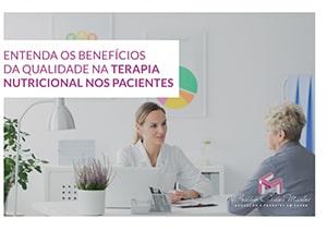 Ebook benefícios na terapia nutricional nos pacientes
