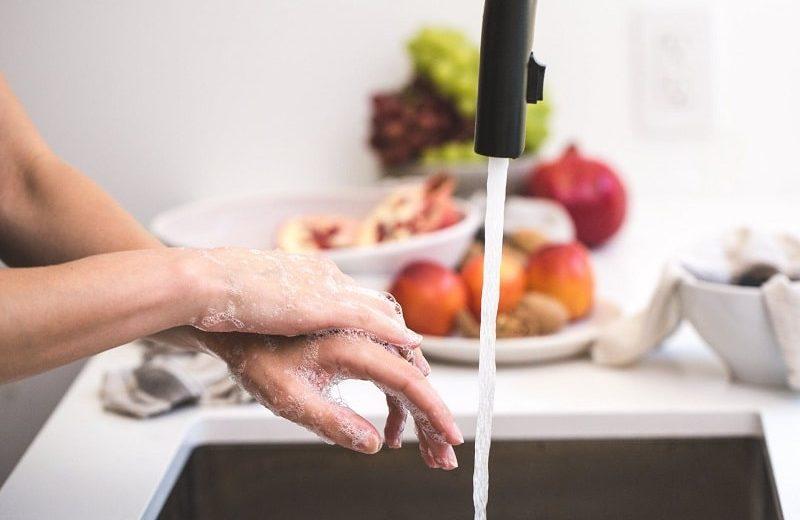 Coronavirus lavar as mãos