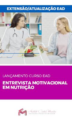 entrevista motivacional em nutricao lancamento em nutricao
